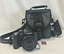 Panasonic Lumix Digital Camera DMC-FZ60, Case, and SD Card
