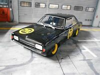 "OPEL Rekord C #201 "" Schwarze Witwe "" Racing 1967 Bos Resin SP 1:18"
