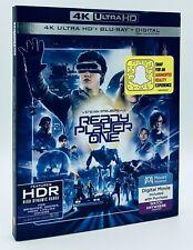 Ready Player One (4K Ultra HD+Blu-ray+Digital, 2018) NEW w/ Slipcover