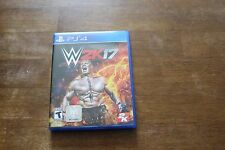WWE 2K17 (Sony PlayStation 4, 2016)