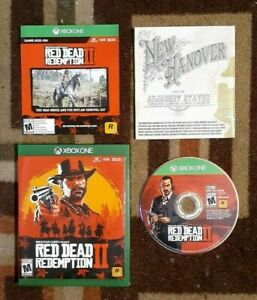 Red Dead Redemption 2 Disc 2 Only (Microsoft Xbox One 2018) VG Shape & Tested