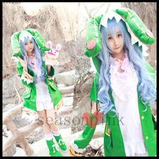DATE A LIVE Hermit Zadkiel Yoshino Cute Anime  Cosplay Costume+Wig+Doll Full Set
