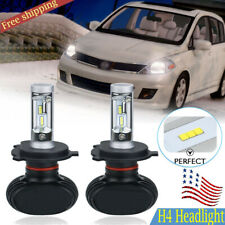 Bright H4 9003 HB2 LED Headlight Kit Light Lamp Bulb High Low Beam 50W 8000LM