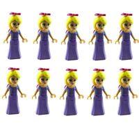 Lego 10x Prinzessin Rapunzel Minifigur (dp010) Neu Princess Rapunzel Minifig New