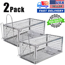 2Pack Usa Animal Humane Live Cage Rat Mouse Rodent Voles Hamsters Trap