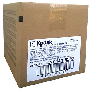 Kodak 4x6/6x8  Photo Print 6R Kit for 6800/6850 Printers  (750 4x6 Prints)
