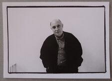 Photo Portrait du Photographe Raymond Depardon en 1999