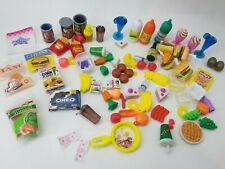 Miniature Barbie Grocery Food Pantry Kitchen Store Items Mix Lot Assorted Set