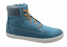 Scarpe blu con cerniera per bambini dai 2 ai 16 anni