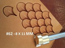 Leather crafting stamp tool for leather crafts brass Dragon scale stamps #62X811