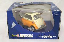 Revell Metal BMW Jsetta 250 Isetta Die-Cast Orange 1/18 Scale