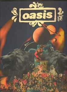 OASIS TOUR  DIG OUT YOUR SOUL PROGRAMME 2009