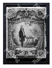 Historic Elias Howe's Sewing Machine 1860s Advertising Postcard