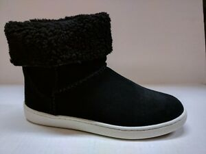 UGG WOMEN'S MIKA CLASSIC COMFY MID ANKLE BOOTIE PULL UP