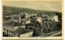 1938 Volpago del Montello Panorama Guller Conegliano dest. Lucca FP B/N VG