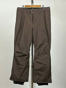 Columbia Women's Snow/Ski Pants with Omni Shield-Brown-Large
