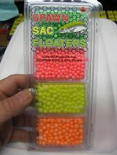 RedWing Tackle Assorted Spawn Sac Drift Ball Floaters / 4 Color Assortment