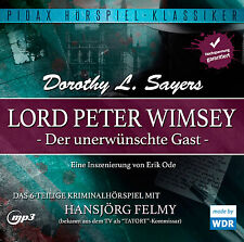 Lord Peter Wimsey Der unerwünschte Gast * CD Hörspiel MP3-CD Krimi Pidax Neu Ovp