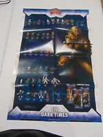 STAR WARS MINIATURE GAME WOTC THE DARK TIMES SET POSTER  GM1168