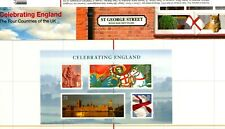 Celebrating England/Scotland/NIreland 3 FDC and Presentation Packs Combo Lot#131