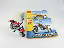 LEGO Creator 4893 Revvin Riders building set INCOMPLETE 2006 Motorcycle bike toy