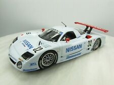 NISSAN R390 GT1 Slot Car Slot.it 1/32 - #32 BABY BLUE - Nismo - Used