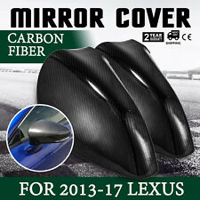 CARBON FIBER MIRROR COVER FOR 2013-17 LEXUS IS ES GS350 CAPS