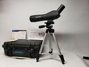 MEADE 20-60x60mm ZOOM SPOTTING SCOPE TRIPOD STAND HARD CASE BIRD WATCHING