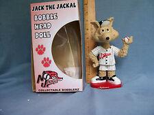 2002 Jack The Jackal Bobblehead Sga New Jersey Jackals Mint New In Box Very Rare