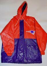 NWT New England Patriots Men's L Rain Coat, NFL Game Day Jacket (Large)