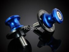 8MM Brand Blue Motorcycle Swingarm Sliders Spools Fit For Suzuki all Years US