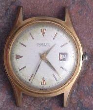 Praesent Automatic 50s Vintage Art Deco YGP Rare AS 1395/1555 Runs Parts/Restore