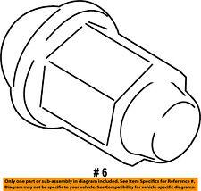FORD OEM 11-13 Fiesta Wheel-Lug Nut BE5Z1012A