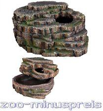 Terrarien Schlangenhöhle 26x20x13cm, optim. Rückzugsmöglichkeit u.Häutungsplatz