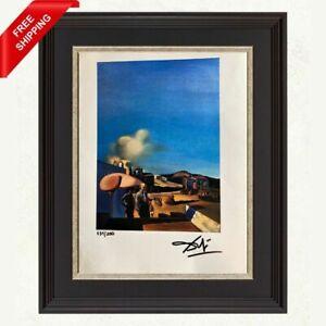 Salvador Dali - The Average Fine, Original Hand Signed Print with COA