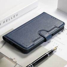 For Samsung Galaxy Note10 Plus Magnetic Leather Card Slot Flip Wallet Case Cover