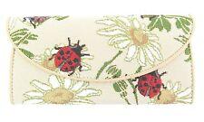 Tapestry Signare Ladybug or Ladybird Envelope Style Wallet