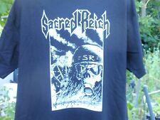 sacred reich lrg. t shirt slayer testament megadeath anthrax entombed 666