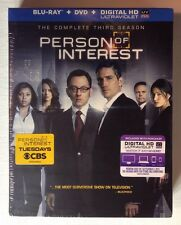 PERSON OF INTEREST Complete Third Season, 10-Disc MINT NEW DVD/ DIGITAL/ BLU-RAY