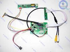 AV Driver Board Monitor kit for B154EW02 FPV project Snowflakes No blue Screen