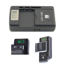 Yiboyuan Battery Charger with Usb Port for All Mobile Cell Phone Pdas Camera