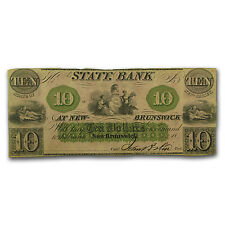 18__ State Bank @ New Brunswick, NJ $10 VF - SKU #87727