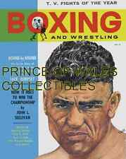1950 BOXING & WRESTLING MAGAZINE COVER PHOTO 8X10