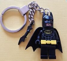 Batman Keychain Keyring with Bat-a-Rang Made from all Genuine LEGO Parts NEW