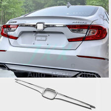 Chrome Rear Trunk Lid Molding Cover Trim Accessories For Honda Accord 2018 2019
