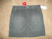 The NORTH FACE Corduroy NENANA Gray Cord SKIRT Womens Size SMALL 4 - 6 $65 NEW
