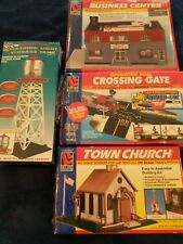 Lot of 4 Life Like Trains Scenery