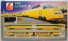VTG 70's LIMA TGV LA POSTE TRAIN SET + ENGINE HO SCALE ITALY MADE HTF WORKS