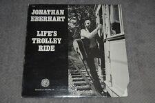 Jonathan Eberhart~Life's Trolley Ride~1981 Folk~Folk Legacy FSI-82~FAST SHIPPING