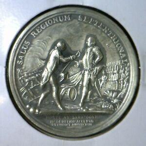 1776 AMERICAN REVOLUTION WAR w/ Battle Pic GENERAL Horatio Gates GEM BU Coin  NR